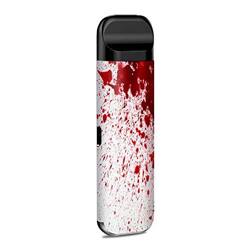 IT'S A SKIN Decal Vinyl Wrap for Smok Novo Pod System Vape Sticker Sleeve Cover/Blood Splatter Dexter