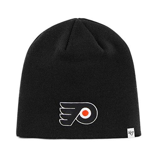 (NHL Philadelphia Flyers Men's Knit Hat, Black, One Size)