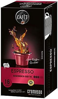 Cafet para Cremesso, Espresso 16 cápsulas: Amazon.es: Alimentación ...