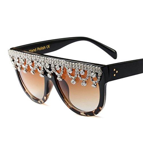 de Sun Lunettes Grande GUO Fashion Mirror GUO D Fashion Lunettes personnalité FwS0adw