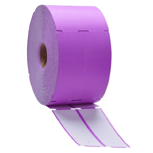Purple Direct Thermal Consignment Style Tags (Thermal Consignment Tags compare prices)