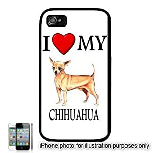 Chihuahua I Love My Dog Apple iPhone 6 4.7 for kids Case Cover Black