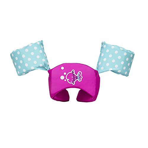 (SwimWays Sea Squirts Life Jacket Swim Trainer - USCG Approved - Pink Fish)