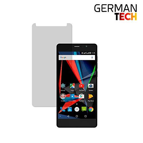 Archos 55 Diamond Selfie, Premium Tempered Glass Screen Protector, 9H Hardness, Perfect fit, Anti-scratch, German Tech
