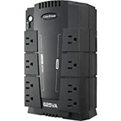 Protect your equipment from power surges with this 8-outlet surge protector that features an 890-joule rating and network and phone line protection. EMI/RFI noise filtering shields against electromagnetic and radio frequency interference.
