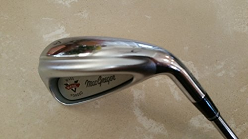 (MacGregor M455 V-Foil Forged 4 Iron 95 Gram Stiff Micro Step Steel Shaft Right Handed (4 Iron))