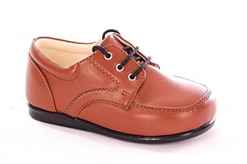 Smart Babies/Kleinkinder Matt Braun Patent Lace Up Schuhe Größe 1-10