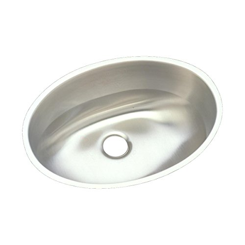 Elkay ELUH1511 Asana Single Bowl Undermount Stainless Steel Bathroom Sink