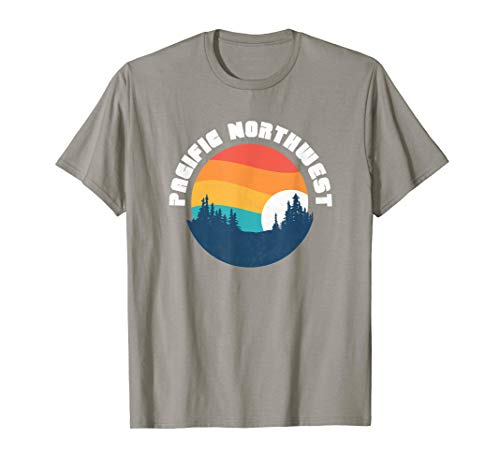 Retro Pacific Northwest  Vintage 80s T-Shirt