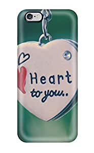 1276172K70494132 New Fashionable Cover Case Specially Made For iphone 6 plus (my Heart Belongs To You Pendent)