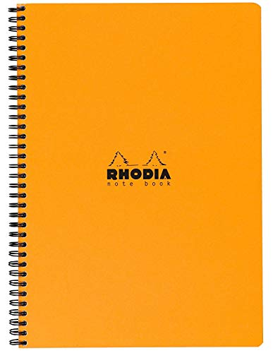 Exaclair Rhodia Graph Notebook 9 X 11 3/4 (Orange)