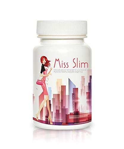 Slim Pretty 30days Weight Loss Pills - Clinically Proven Fast Fat Binder - Extreme Potency Diet Pill by Miss Slim 30 Veggie Cap