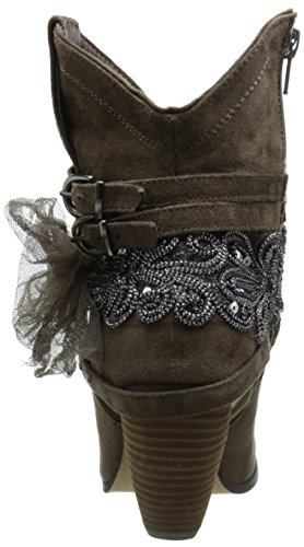 Not Rated Bottes pour Femme Taupe syID0