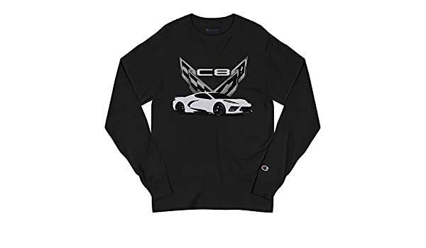 JG Infinite 2020 Arctic White Corvette C8 Short-Sleeve Unisex T-Shirt