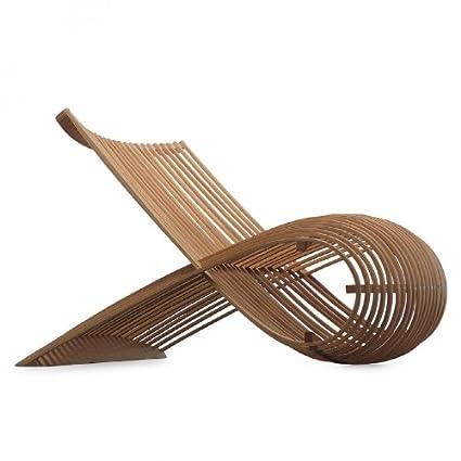 de madera de la silla de la silla Cappellini, de madera de ...