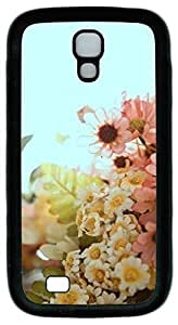 Samsung Galaxy S4 Case TPU Customized Unique Print Design Beautiful Flowers Case Cover For Samsung Galaxy S4