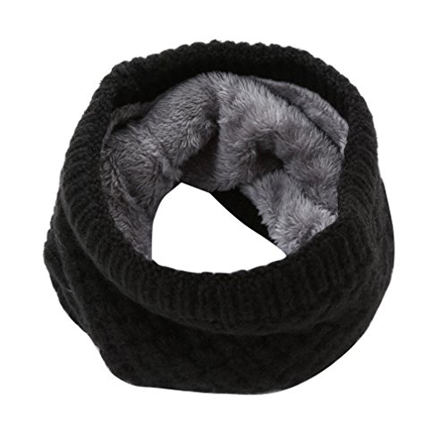 Fheaven Man Wome Fashion Winter Warm Scarf Knitted Collar Scarf Bufanda Thickness - Fashion Scarf Lambswool