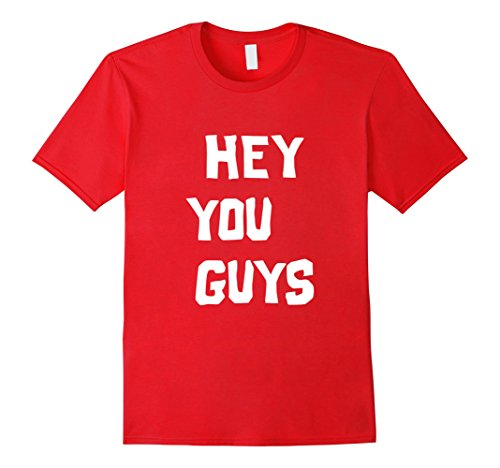 Themed Halloween Costumes For Groups (Mens Hey You Guys | Halloween Group Costume Small Red)
