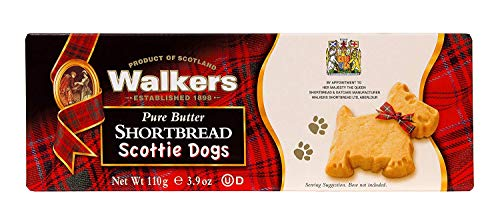 Walkers Shortbread Scottie Dogs Shortbread, 3.9 Ounce