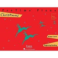 Pretime Piano Christmas, Primer Level: Beginnning Reading (Faber Piano Adventures)