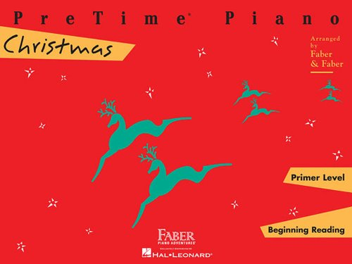 Pretime Piano Christmas, Primer Level: Beginnning Reading (Faber Piano Adventures) ()