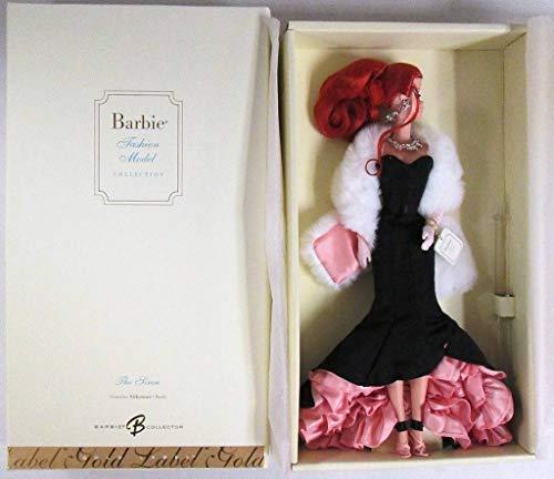 (Silkstone The Siren BARBIE Doll Gold Label Fashion Model Collection (2007))