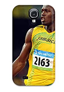 Defender Case For Galaxy S4, Usain Bolt Running Pattern