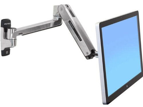 - Ergotron LX HD Sit-Stand Wall Mount LCD Arm - Wall Mount