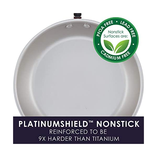 Rachael Ray Create Delicious Nonstick Cookware Pots and Pans Set, 13 Piece, Purple Shimmer 3