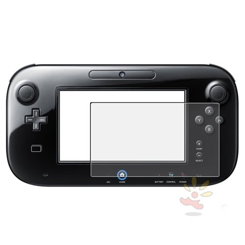 Everydaysource Compatible with Nintendo Wii U Gamepad Remote Controller, Anti-Glare Screen Protector