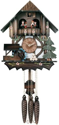 River City Clocks One Day Musical Cuckoo Clock Cottage