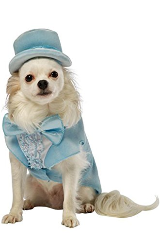 [Tux Dog Pet Costume Blue - Small] (Dumb And Dumber Harry Tux Costumes)