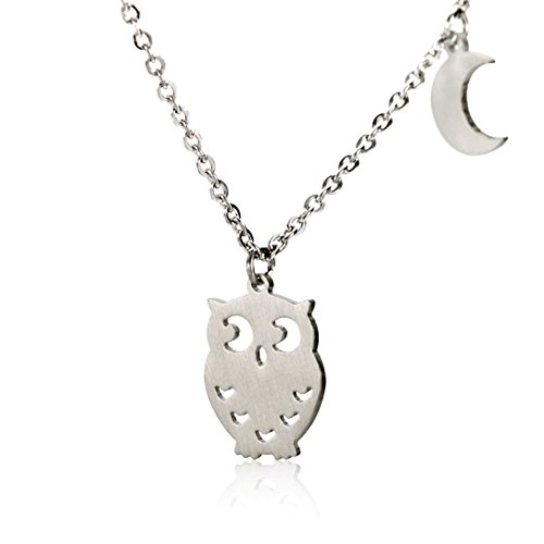 Owl Necklace Charm - 1
