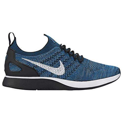 Nike Mens Air Zoom Mariah Flyknit Black/Racer Blue-Black-White Running Shoe 9.5 Men US