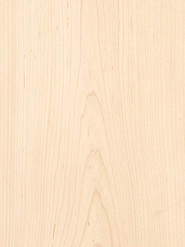 - Maple White Wood Veneer 2x8 3M Pre-Adhesive Backer by Veneer Tech
