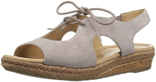 Naturalizer Women's Reilly Espadrille Sandal Turtledove