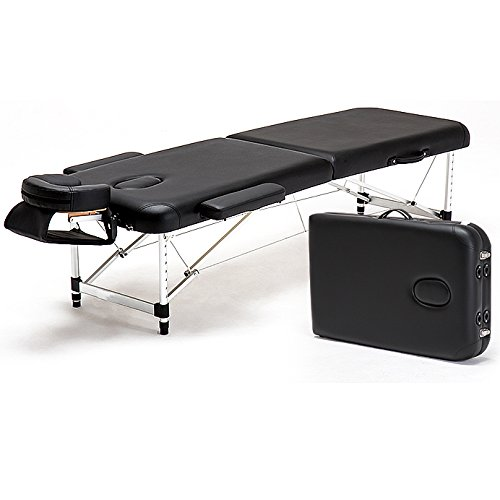 Angel USA Aluminum 84''L Portable Massage Table Facial SPA Bed Tattoo w/Free Carry Case by ANGEL USA