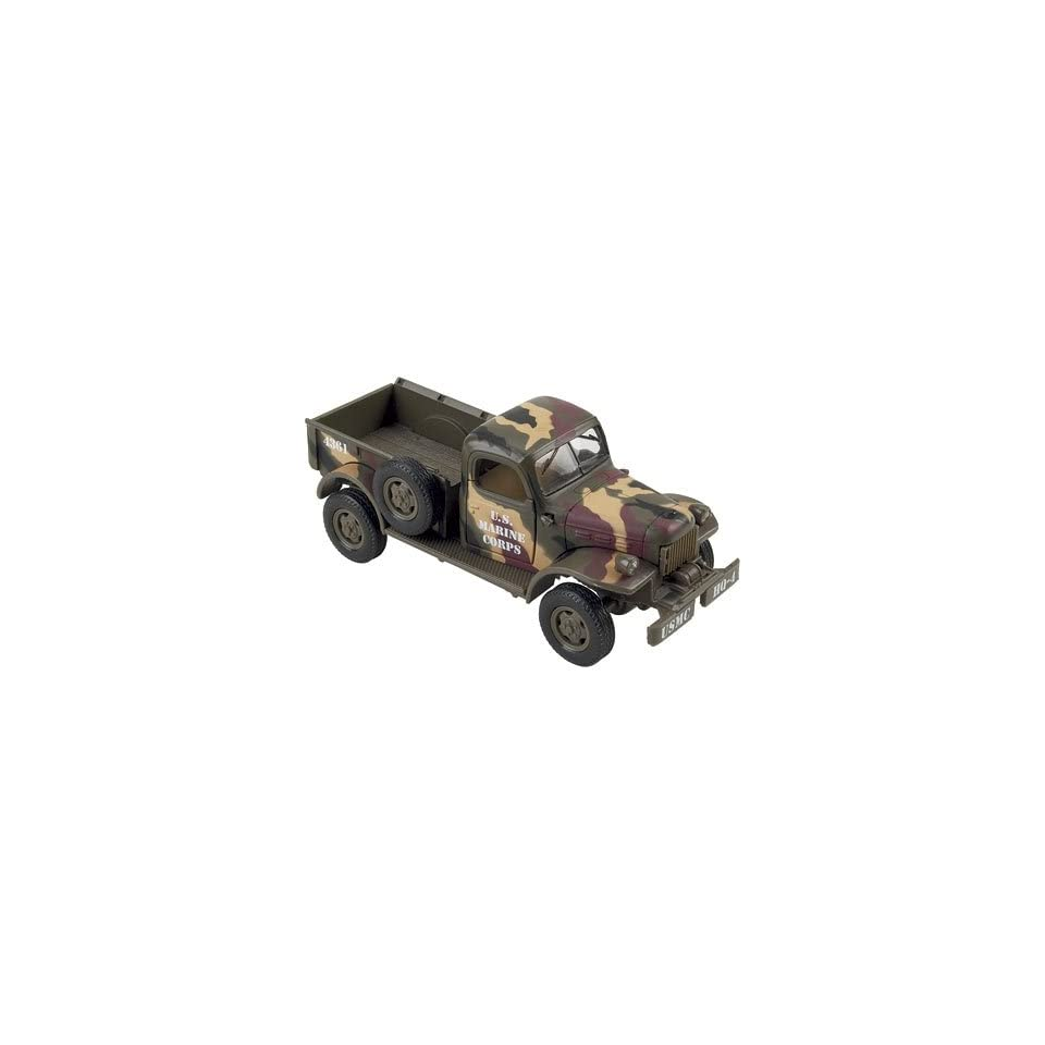 New Ray Die Cast Truck Replica   Dodge Power Wagon   Marine Corps, 132 Scale, Model# SS 44401