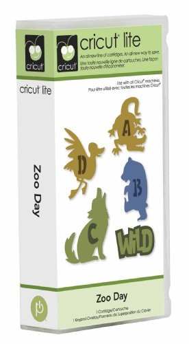 Cricut Lite Cartridge - Zoo Day - Cricut Cartridge Animal