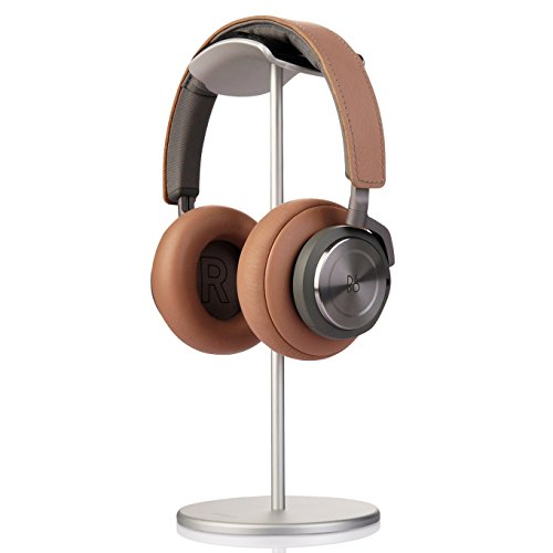 Price comparison product image Sturdy Headphone Stand, Jokitech Aluminum Large Air Cushion Slim Headphone Stand Suitable for Beats, Sennheiser, Sony, Audio-Technica, Bose, Shure, AKG, Logitech, BeoPlay, Razer Gamer Headphones and More-Silver