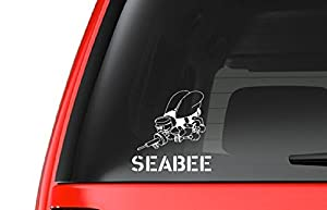 USN Seabee (M26) Navy Vinyl Decal Sticker Car/Truck Laptop/Netbook Window