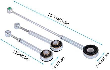 Akozon Gear Shift Link Linkage Rod Gearbox Set for Berlingo Xantia Xsara 306 1993-2001 405 Partner