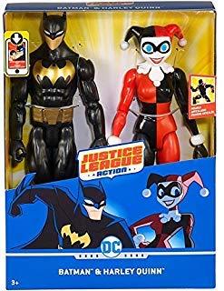 Justice League Action Batman & Harley Quinn Figure 2-Pack