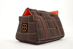 Petego-Bitty Bag Soft padded small pet shoulder carrier bag tote. (16\