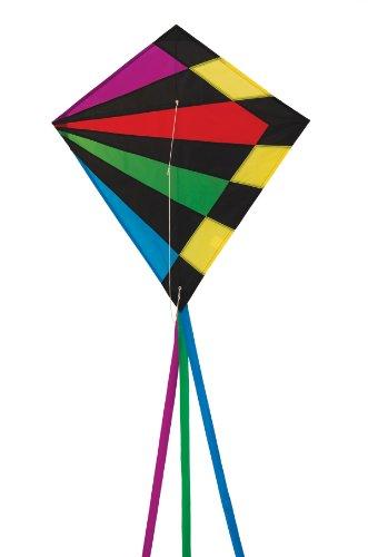 In the Breeze Rainbow Rays Diamond Kite, 30-Inch ()