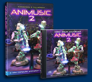 Animusic DVD #2 and CD#2 2 disk set