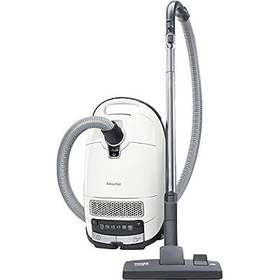 Miele S8MEDICAIR–Aspirateur (2200W, électronique, cylindre, Sac pour la poussière, acier inoxydable, active-air-clean, filtre hEPa) couleur blanc