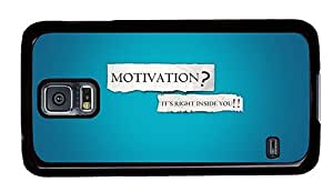 Hipster Samsung Galaxy S5 Case fun motivation its right inside you PC Black for Samsung S5