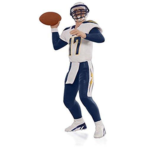 Hallmark NFL San Diego Chargers Philip Rivers Ornament 2015