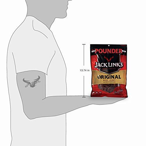 Jack Link's Beef Jerky, Original Flavor, 16 Ounce
